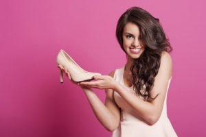 Beautiful women with favourite classic high heels